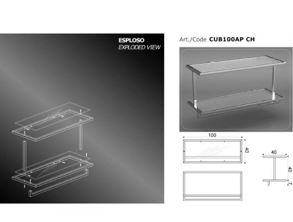 ARREDAMENTO - CUB100AP - CH