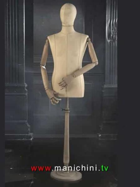 busto-vintage-uomo-braccia-in-legno