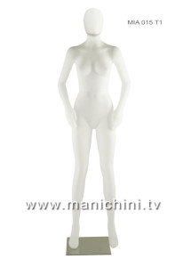MANICHINO ECONOMICO NEW ECO DONNA - MIA 015 BI + TT1