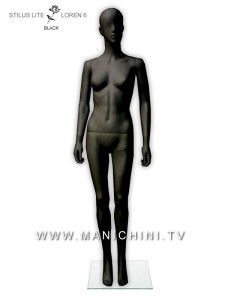 MANICHINO STILUS LITE BLACK UOMO - LORIS 4