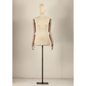 busto-sartoriale-donna-con-braccia-in-legno-con-orbite (1)
