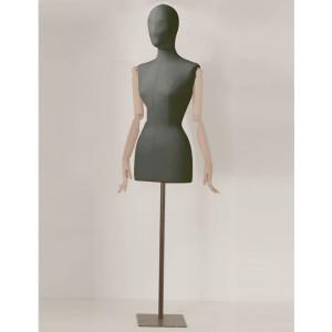 busto-sartoriale-nero-donna-braccia-in-legno-testa-con-orbite
